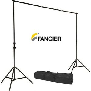 Background Stand Backdrop Support System Kit 8ft by 10ft Wide by Fancierstudio TB30
